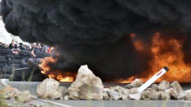 Сръбският патриарх заобиколи с хеликоптер барикадите в Цетине (снимки и видео)