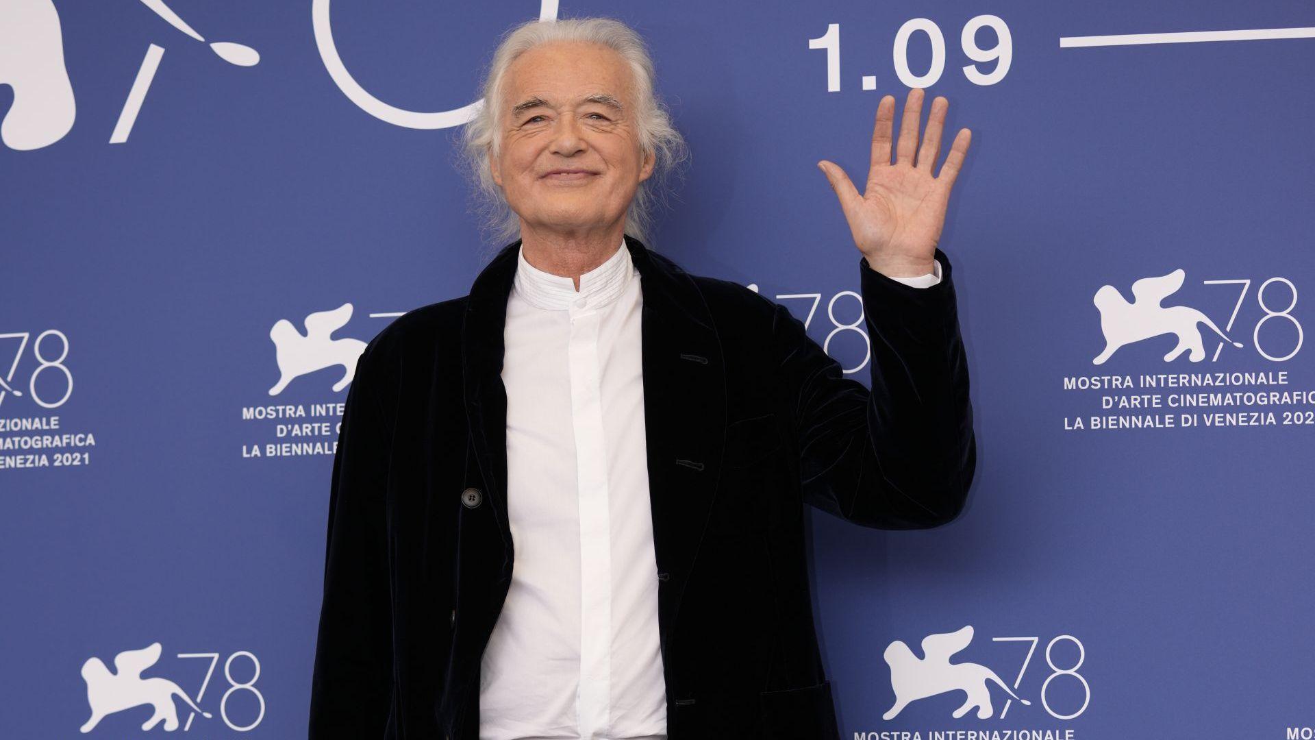 """Джими Пейдж представи документалния филм за """"Лед Цепелин"""" във Венеция (видео)"""