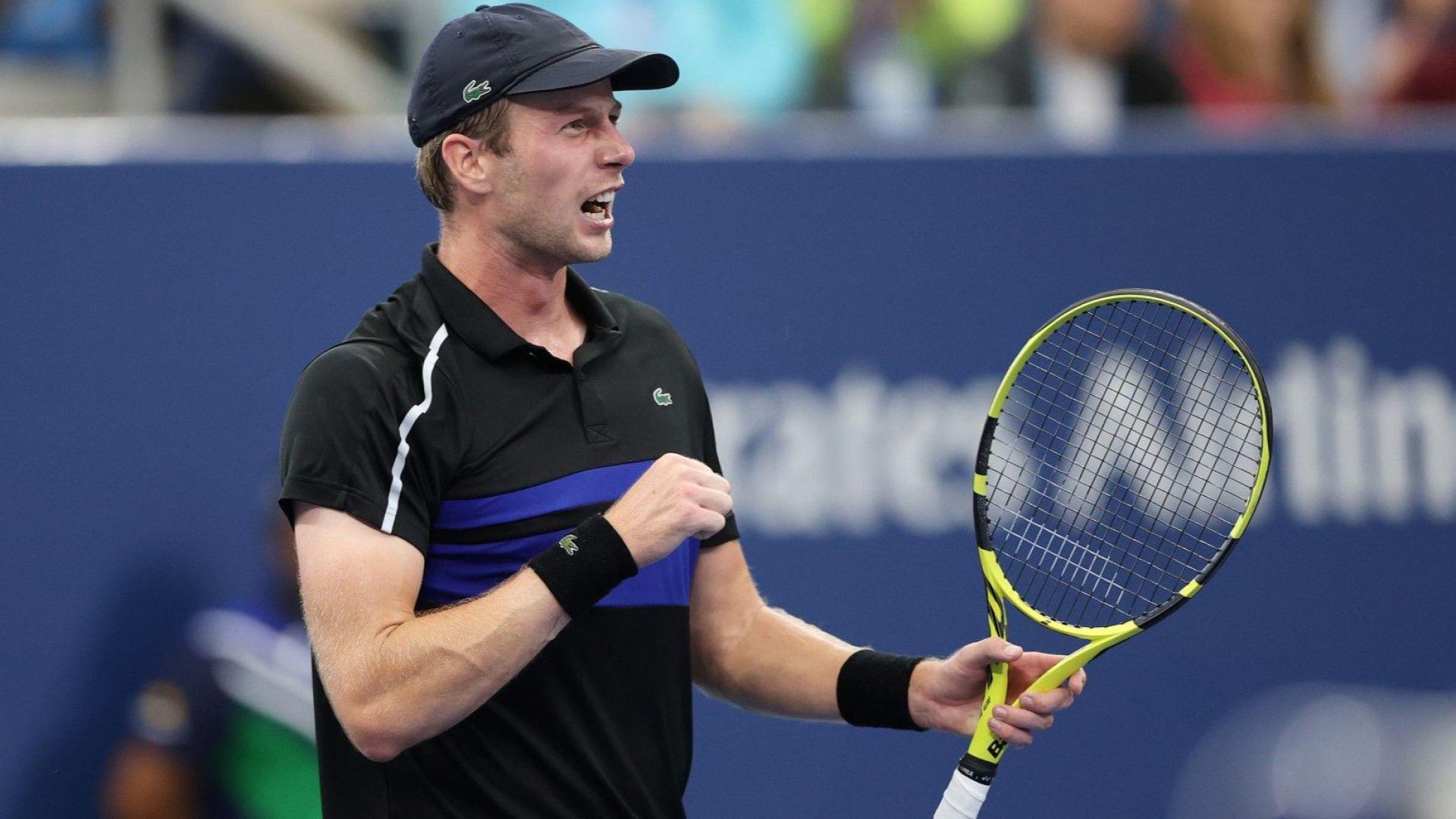 Квалификант и тийнейджър осигуриха поредна нощ на изненади на US Open