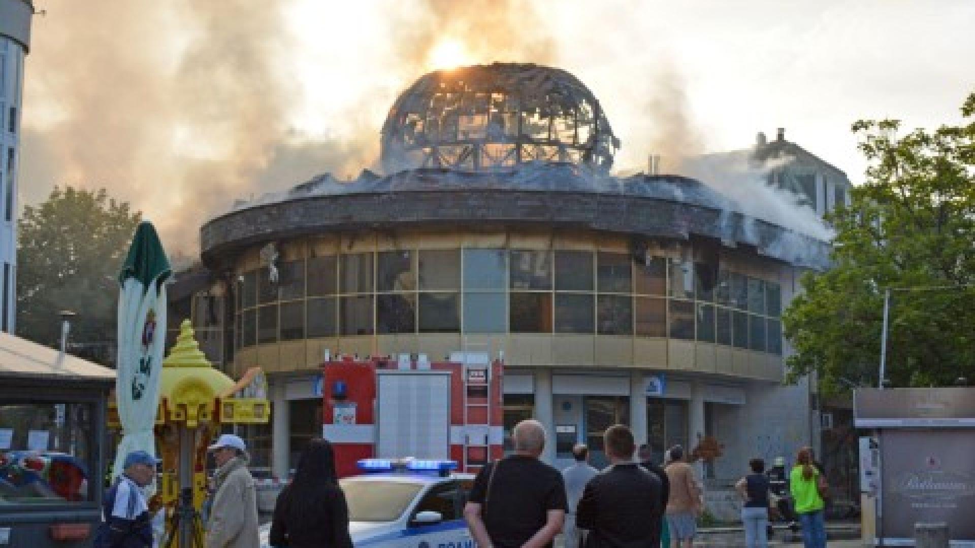 """Изгонен от нощен клуб се върнал и подпалил """"Купола"""" в Благоевград"""