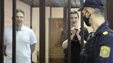 Тежки присъди в Беларус: 11 години затвор за Мария Колесникова