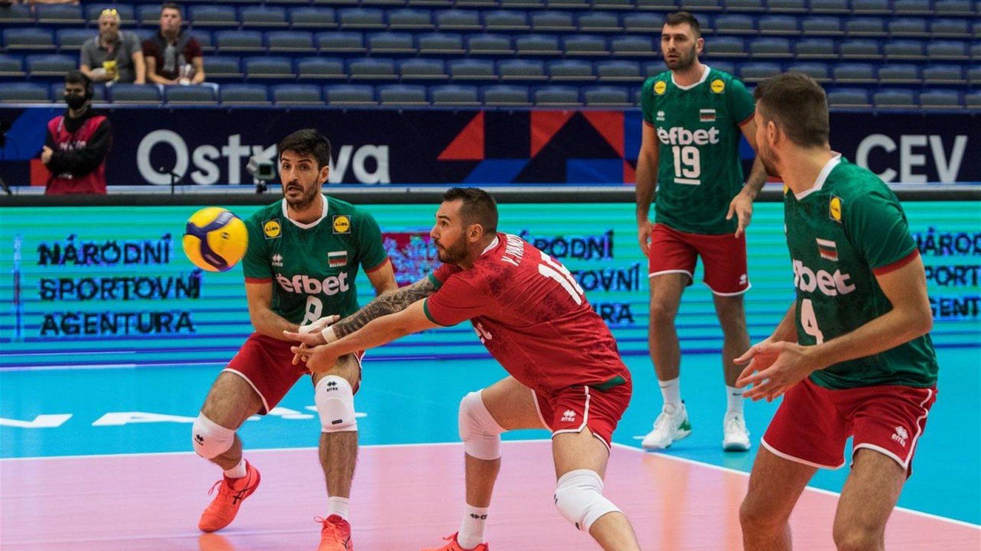 Първа загуба за България: Млада Италия приземи волейболните национали на Европейското