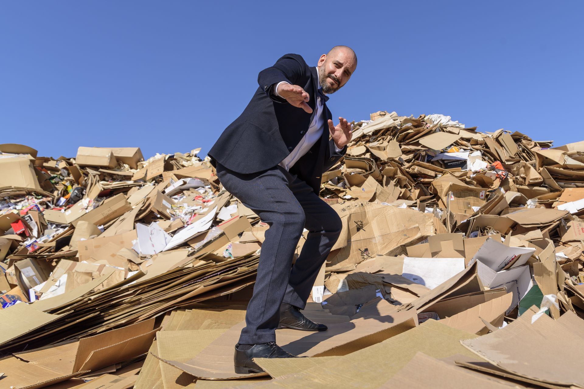 Това депо е последен пристан на документите с изтекъл срок на съхранение...