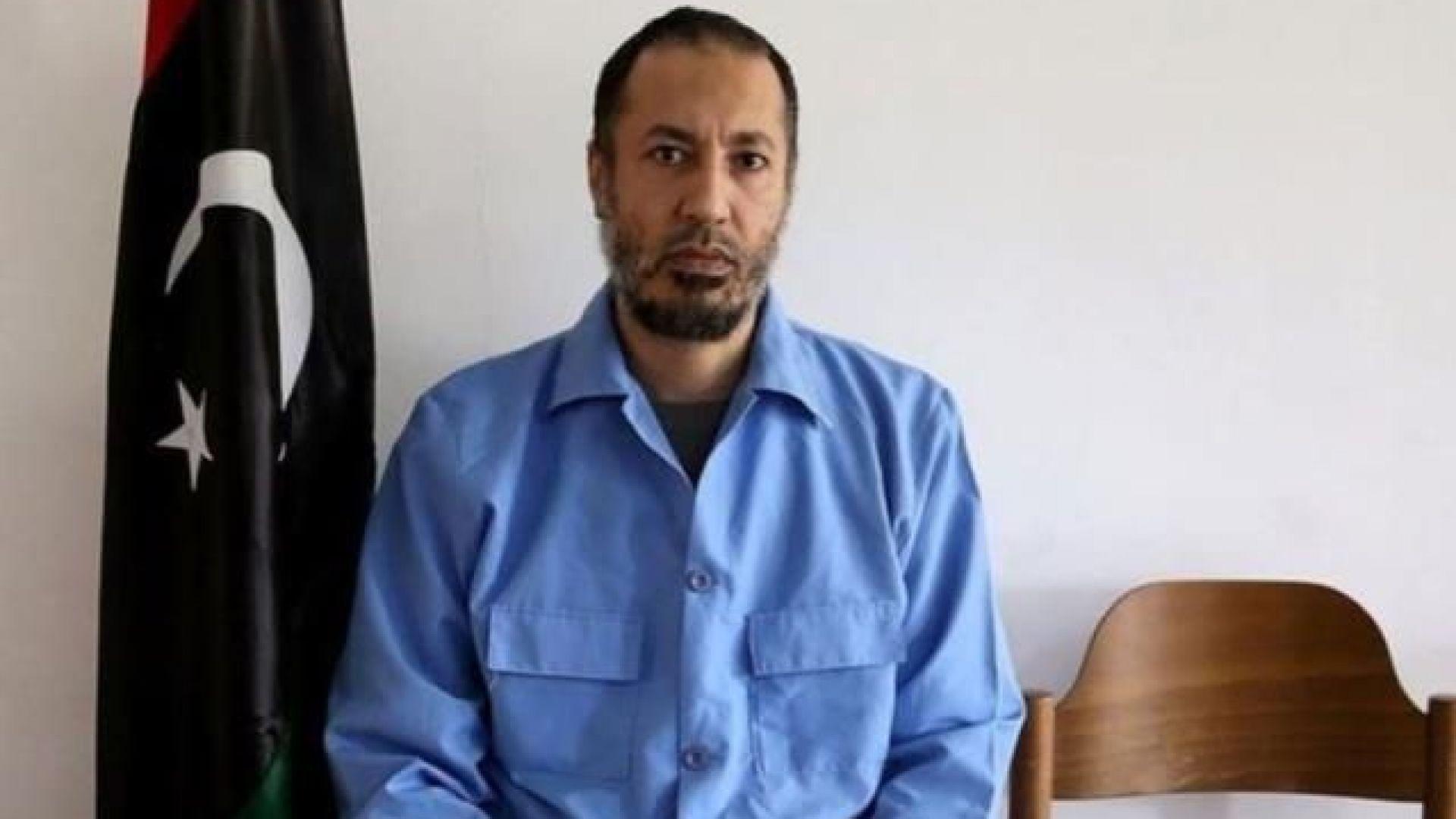 Саади Кадафи, един от синовете  на Муамар Кадафи, се намира в Турция