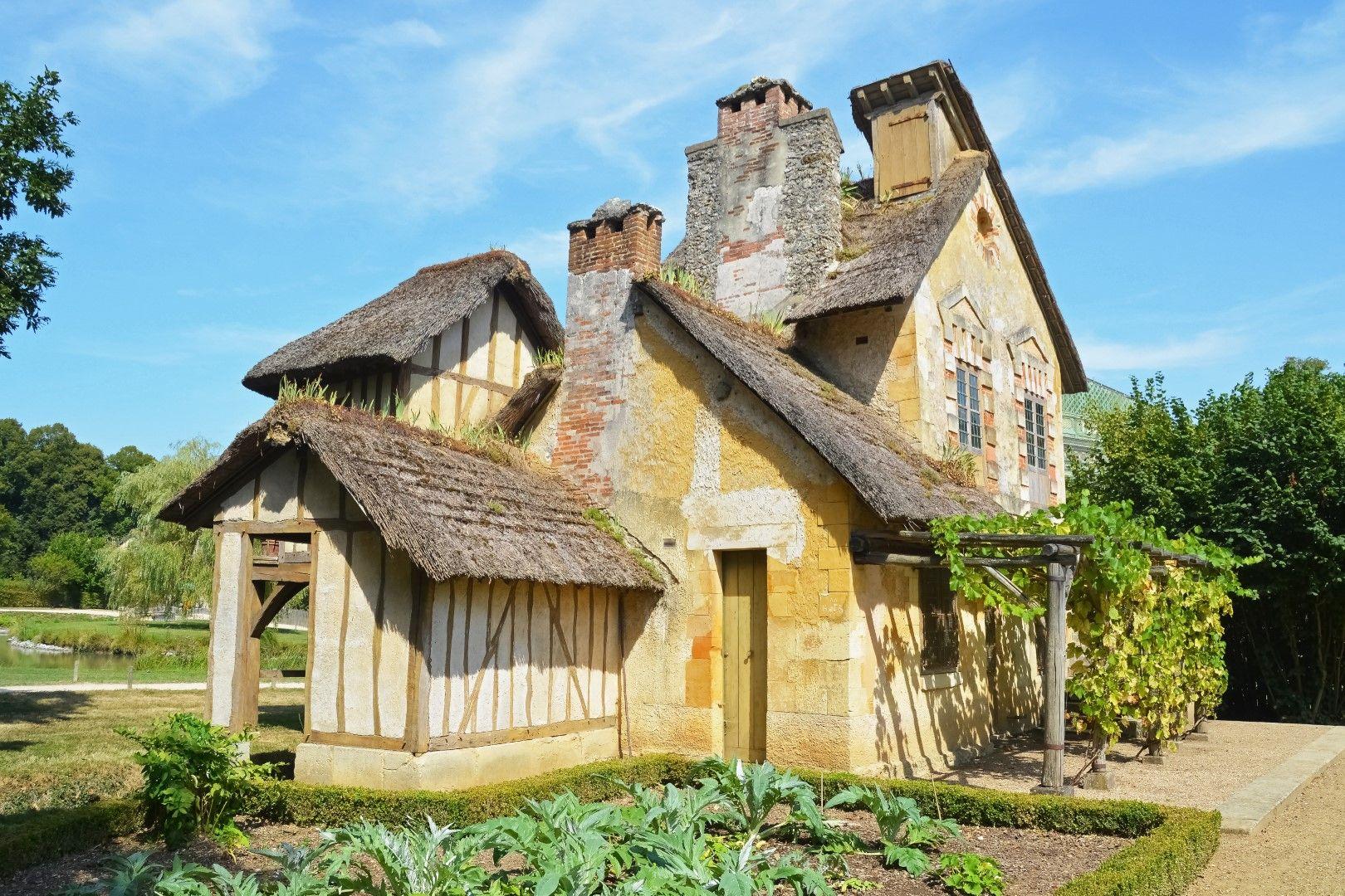 Селска къща в личното село на Мария-Антоанета