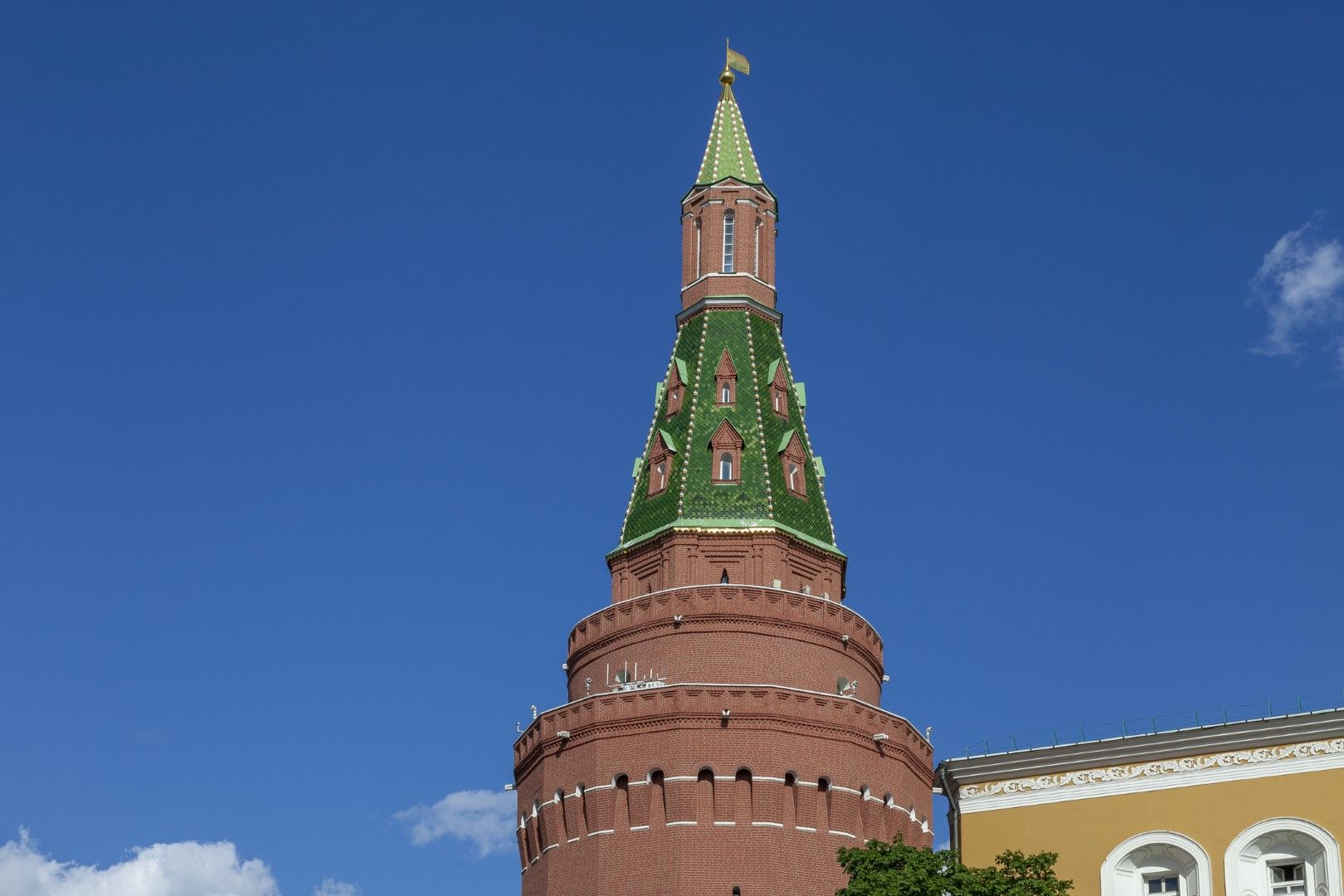 Ъгловата арсеналска кула в Кремъл