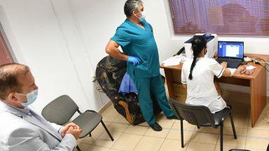 1186 се ваксинираха през уикенда в София