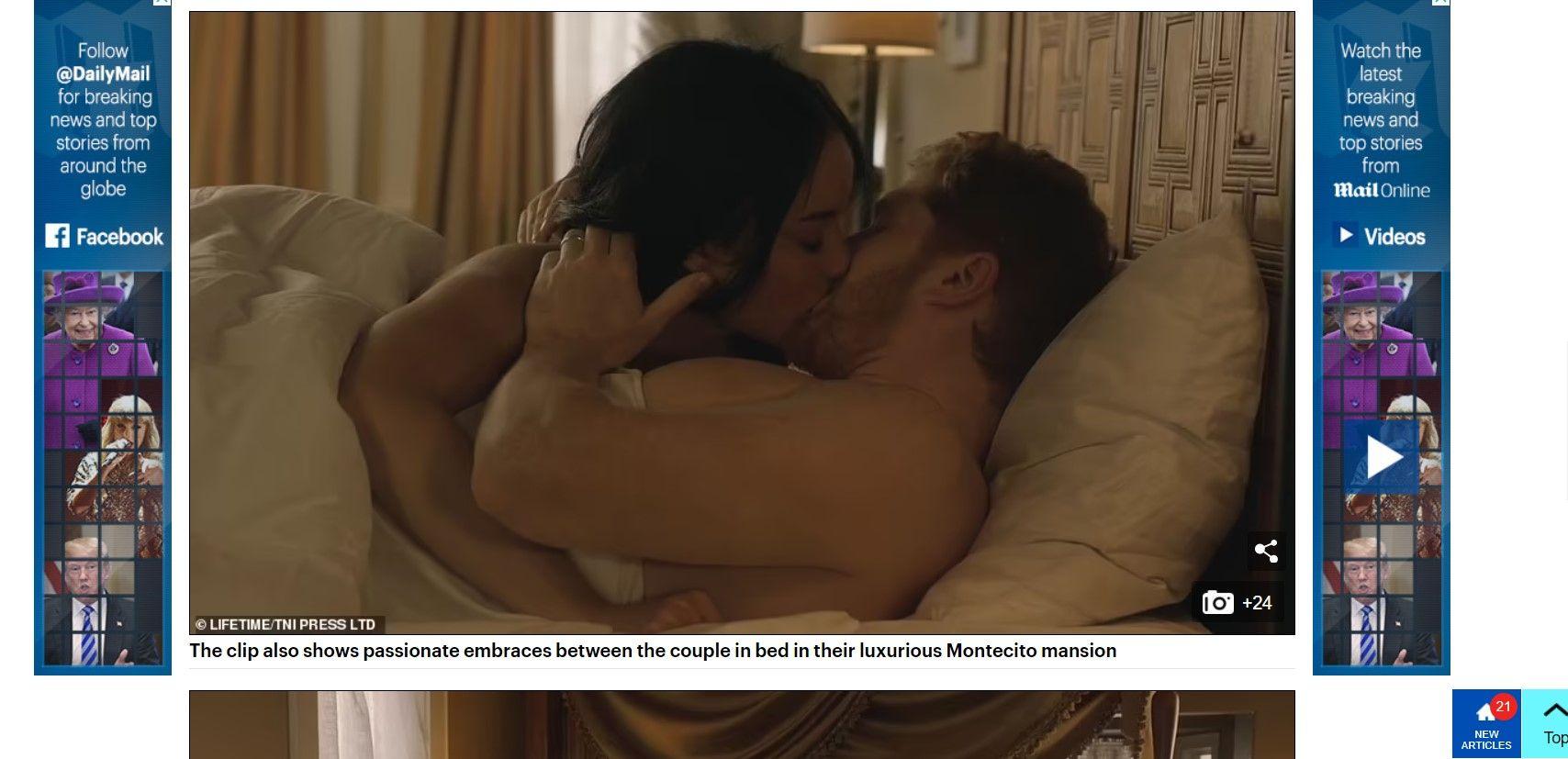 В сериала няма да пестят еротичните сцени