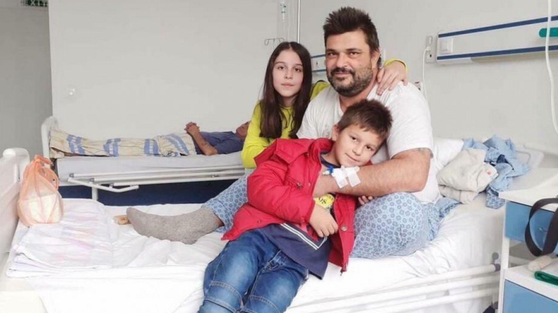 Да помогнем на Светльо да оздравее и да се грижи за двете си деца