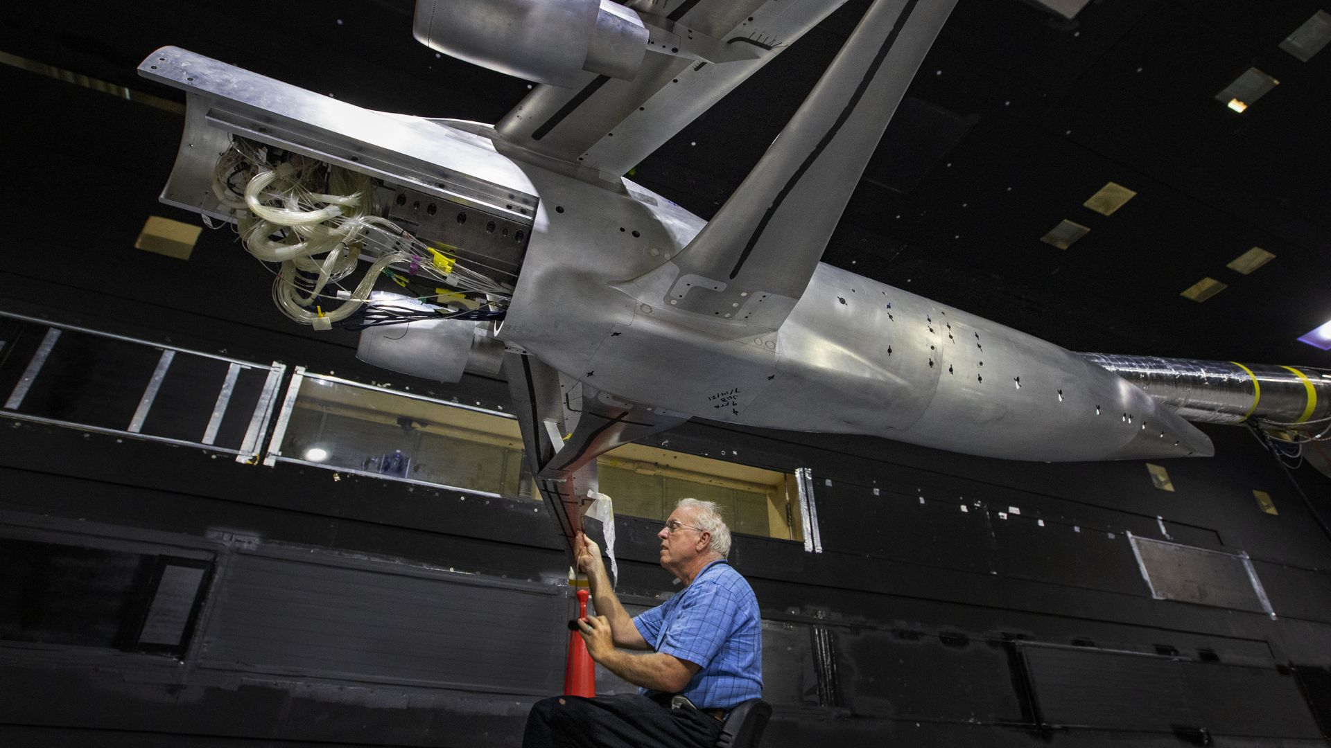 НАСА тества икономичен реактивен самолет