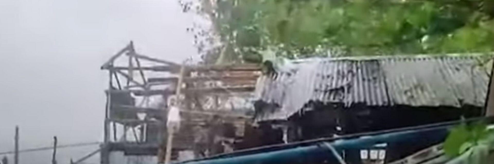 Силен тайфун причини спиране на електроподаването на много места  във Филипините