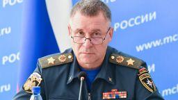 Министърът на извънредните ситуации на Русия загина по време на учение