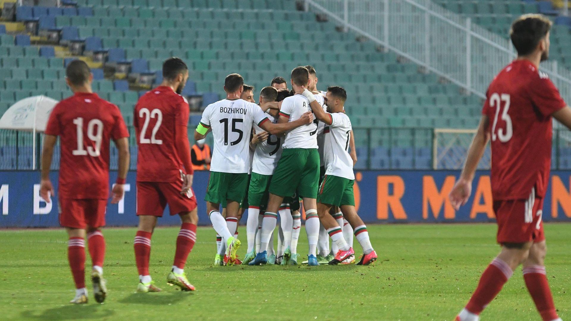 България изпрати успешната си футболна седмица с разгром над Грузия