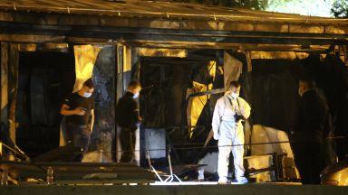 Огнен ад в македонска Covid-болница взе поне 10 жертви (снимки/видео)