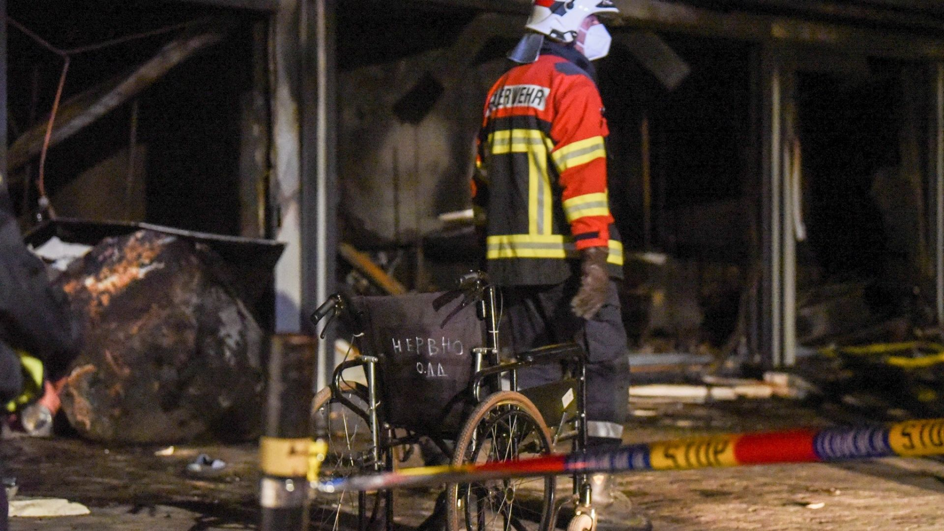 Тетово потъна в траур: От 26 пациенти в Covid болницата, 14 са загинали в огнения ад*