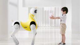 Китайски стартъп създава робот-еднорог за деца