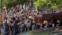 Гърция се сбогува с композитора Микис Теодоракис (СНИМКИ)