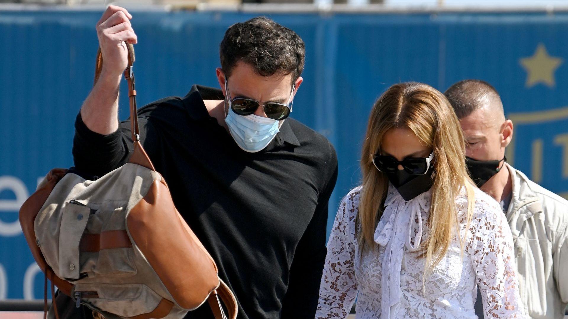 Дженифър Лопес и Бен Афлек пристигнаха във Венеция за кинофестивала