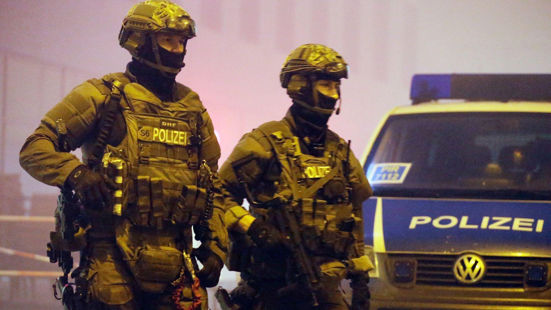 Германската полиция предприе мащабни претърсвания заради заподозрени екстремисти
