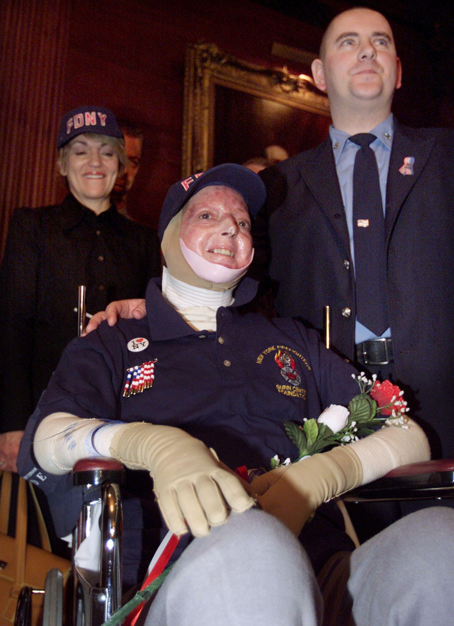 Илейн Дюх, оцеляла след експлозията