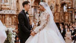 """Ангелът на """"Victoria's Secret"""" Джасмин Тукс се омъжи за сина на вицепрезидента на Еквадор"""