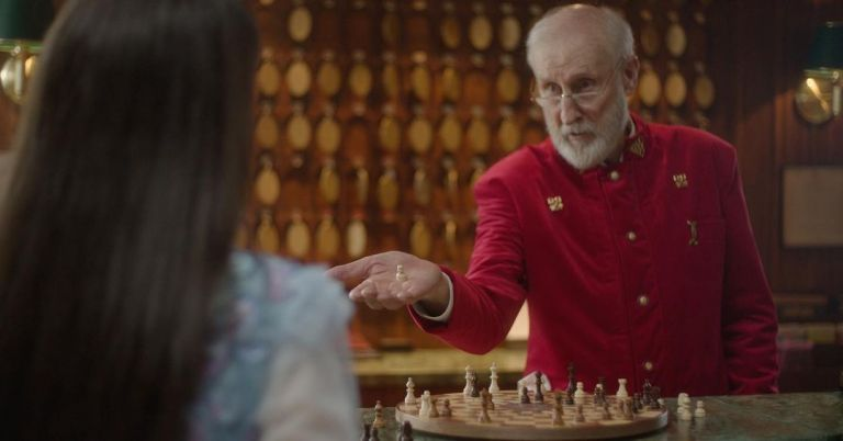 James Cromwell is the Red King
