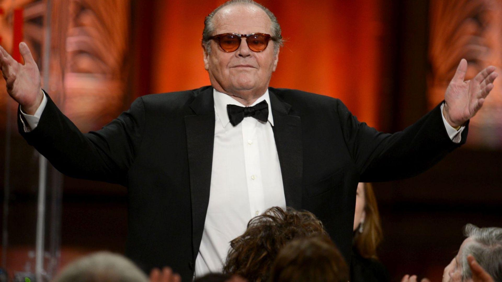 Джак Никълсън се затвори у дома заради тежка деменция