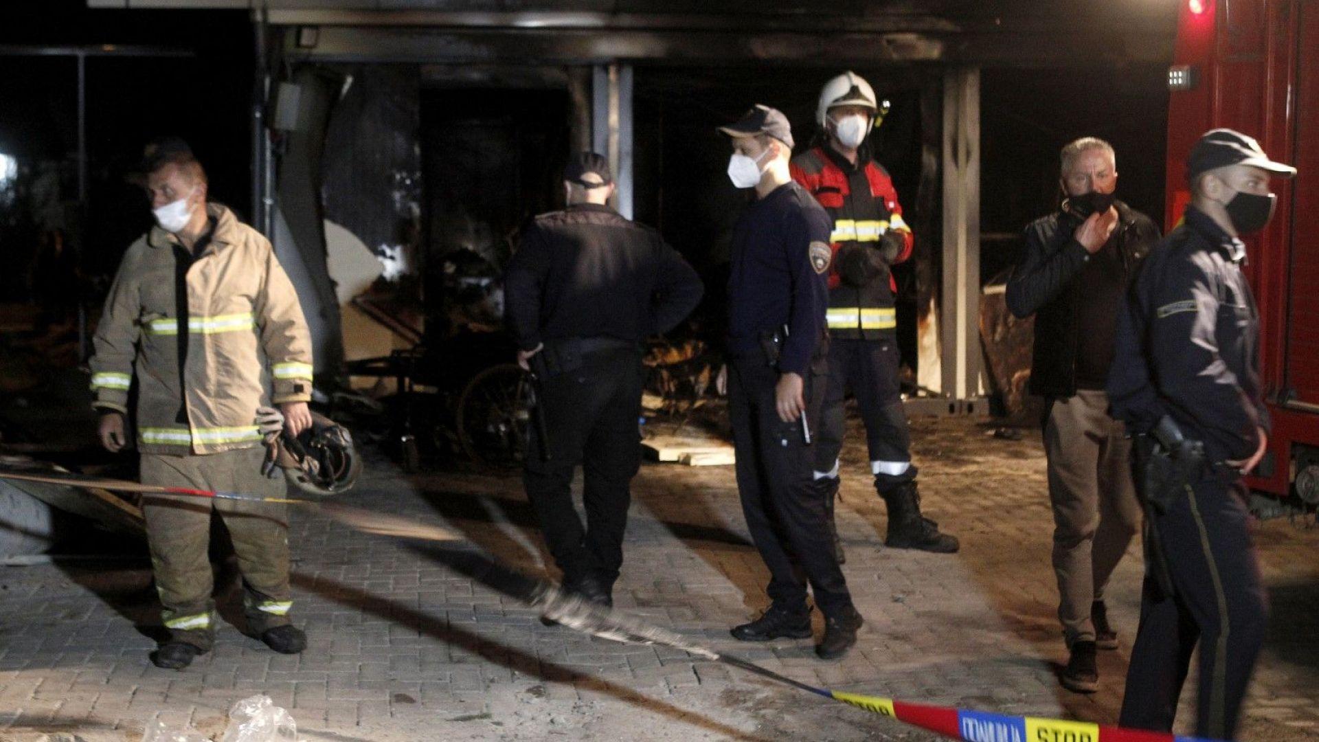 12 пациенти и двама посетители са жертвите на пожара в болницата в Северна Македония