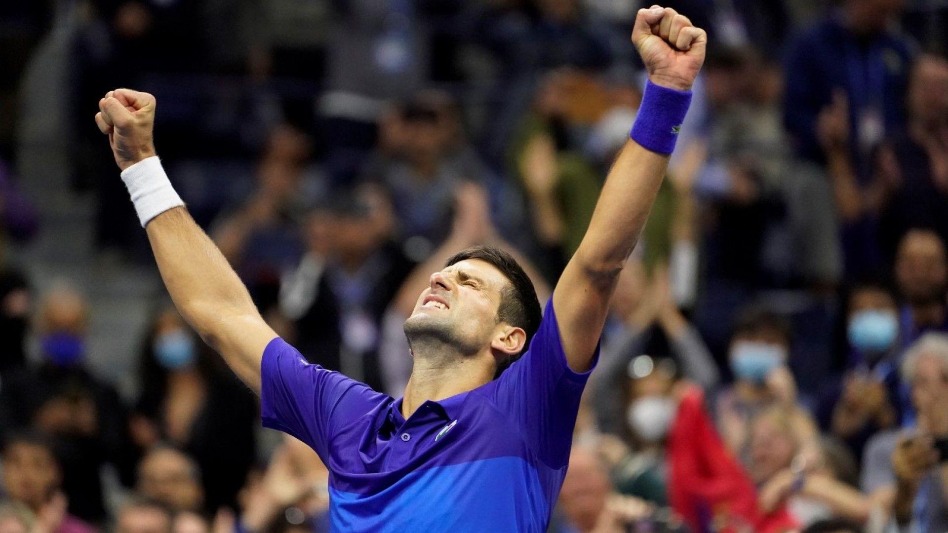 Пет сета екшън, страдание и воля... За Джокович остана само един мач до Еверест в тениса