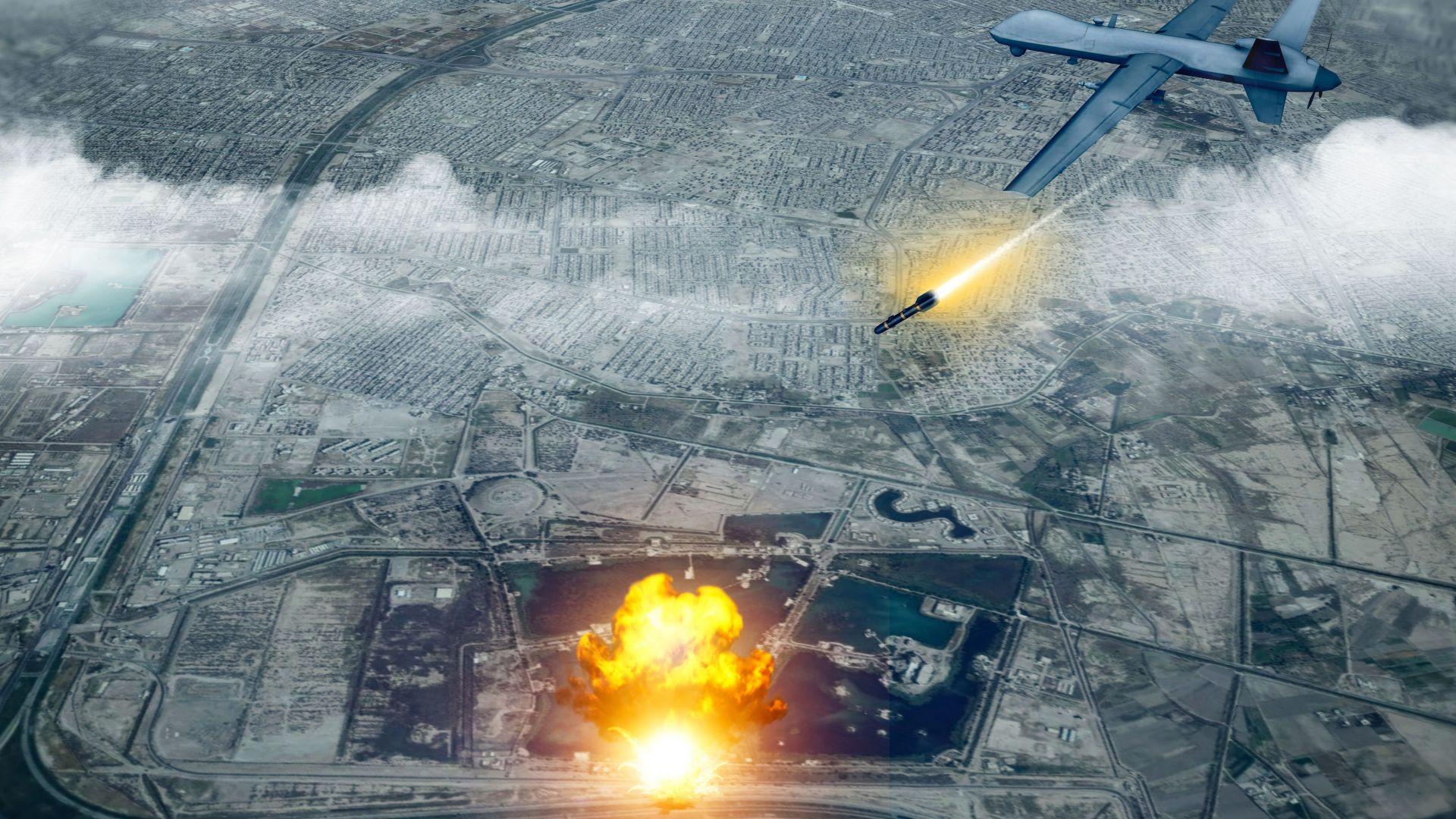 Нападение с дронове срещу летище в Ирак