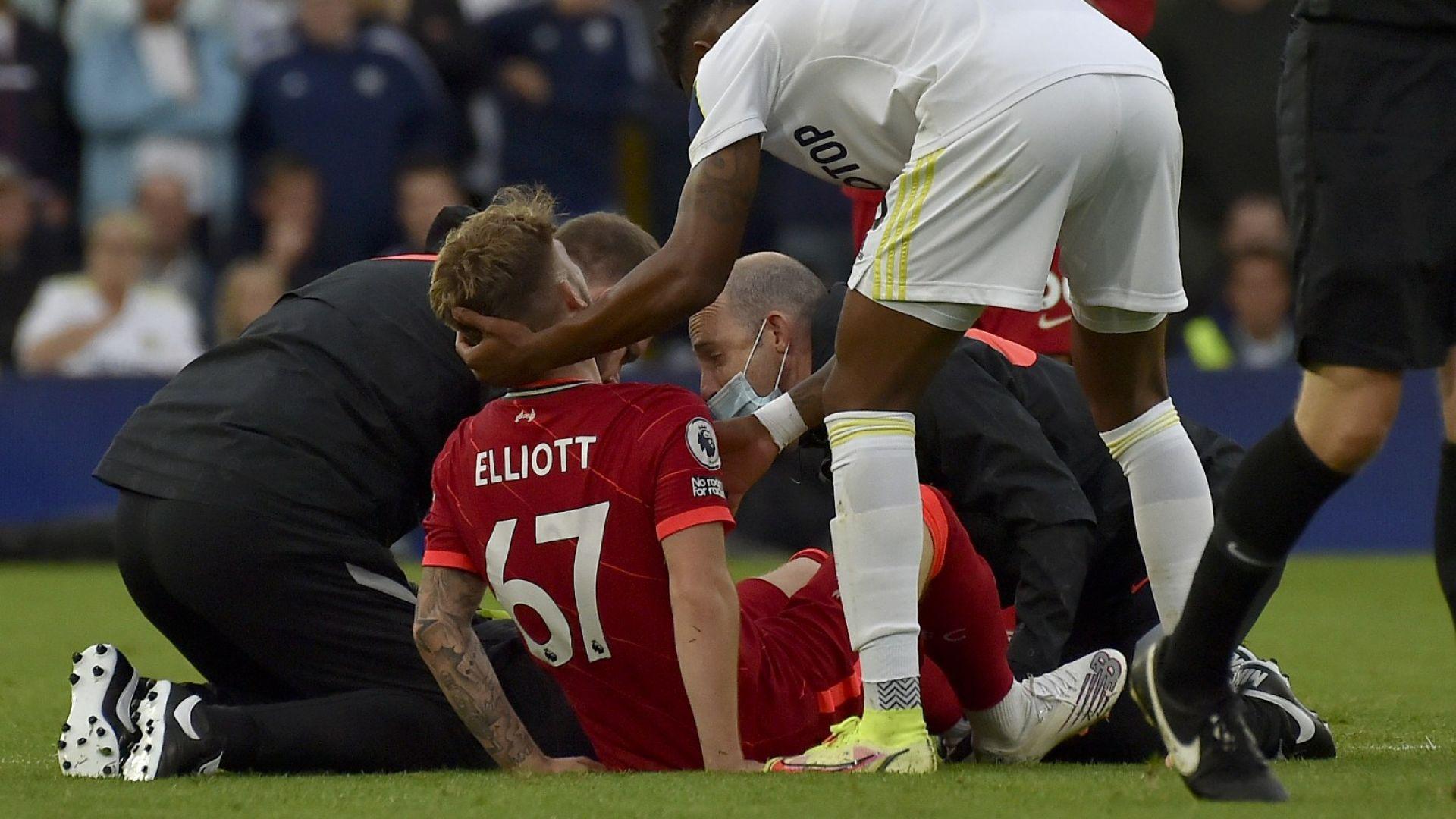 Английски талант изненадващо скочи в защита на съперника, който счупи крака му