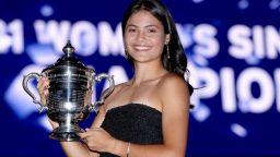 Десетгодишна прогноза: Радукану ще стане първата жена-милиардер в спорта