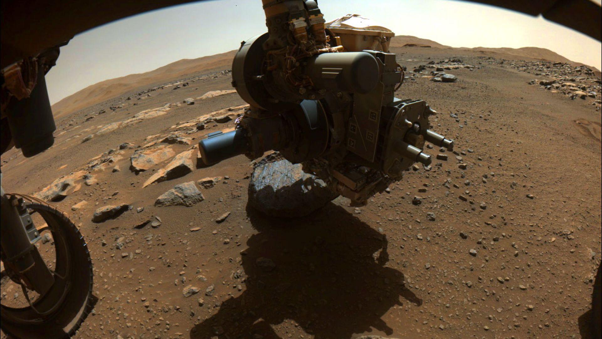 На Марс е имало вода дълго време, според новите проби от Perseverance