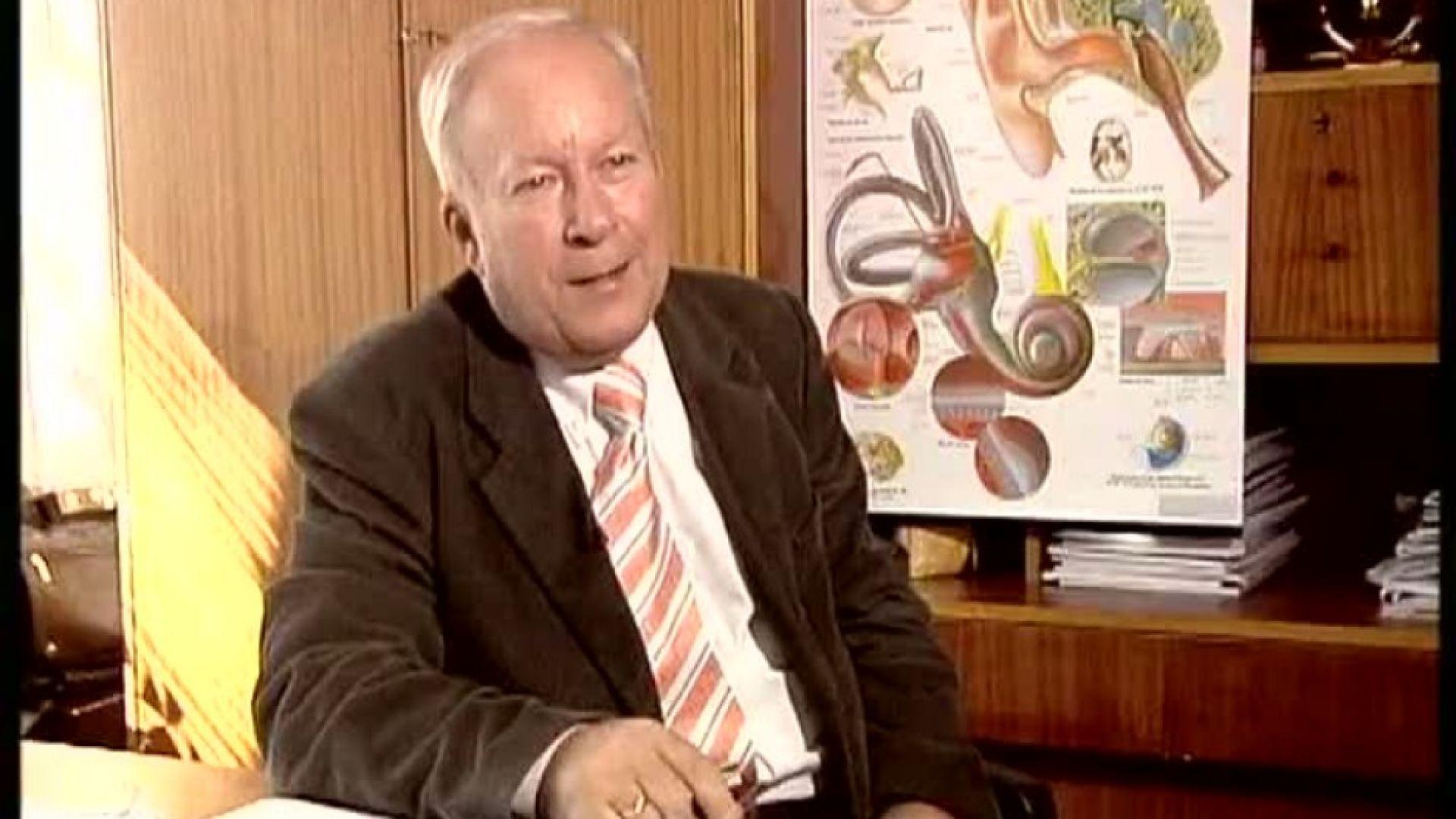 Внезапно почина изтъкнатият отоларинголог проф. Георги Едрев