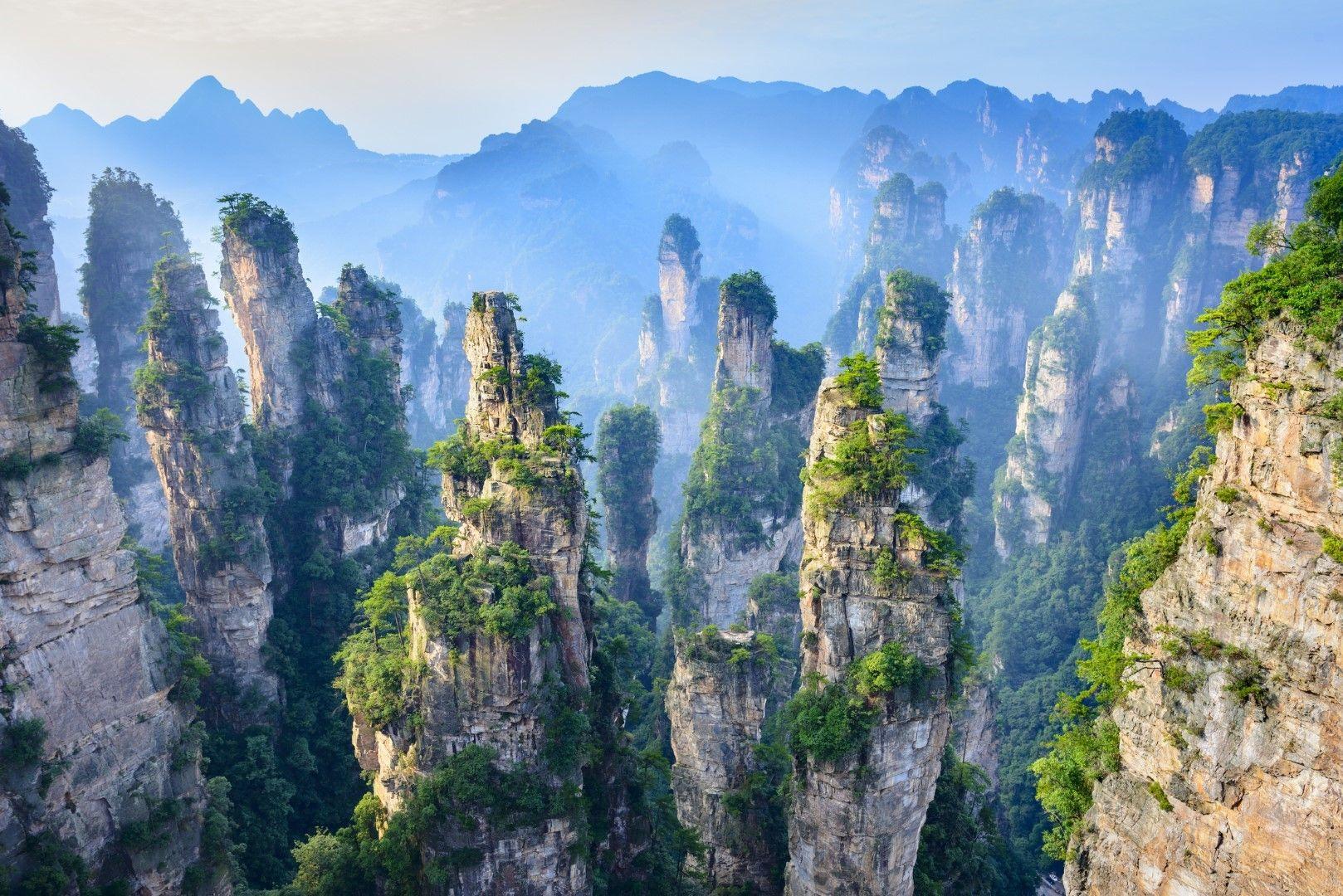 Планината Аватар Алелуя в Китай