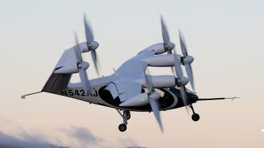 НАСА тества летящо електрическо такси