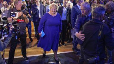 Консервативната норвежка премиерка призна поражението  си на изборите
