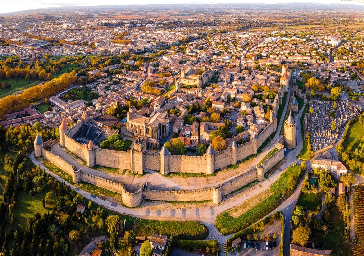 Крепостта на Каркасон