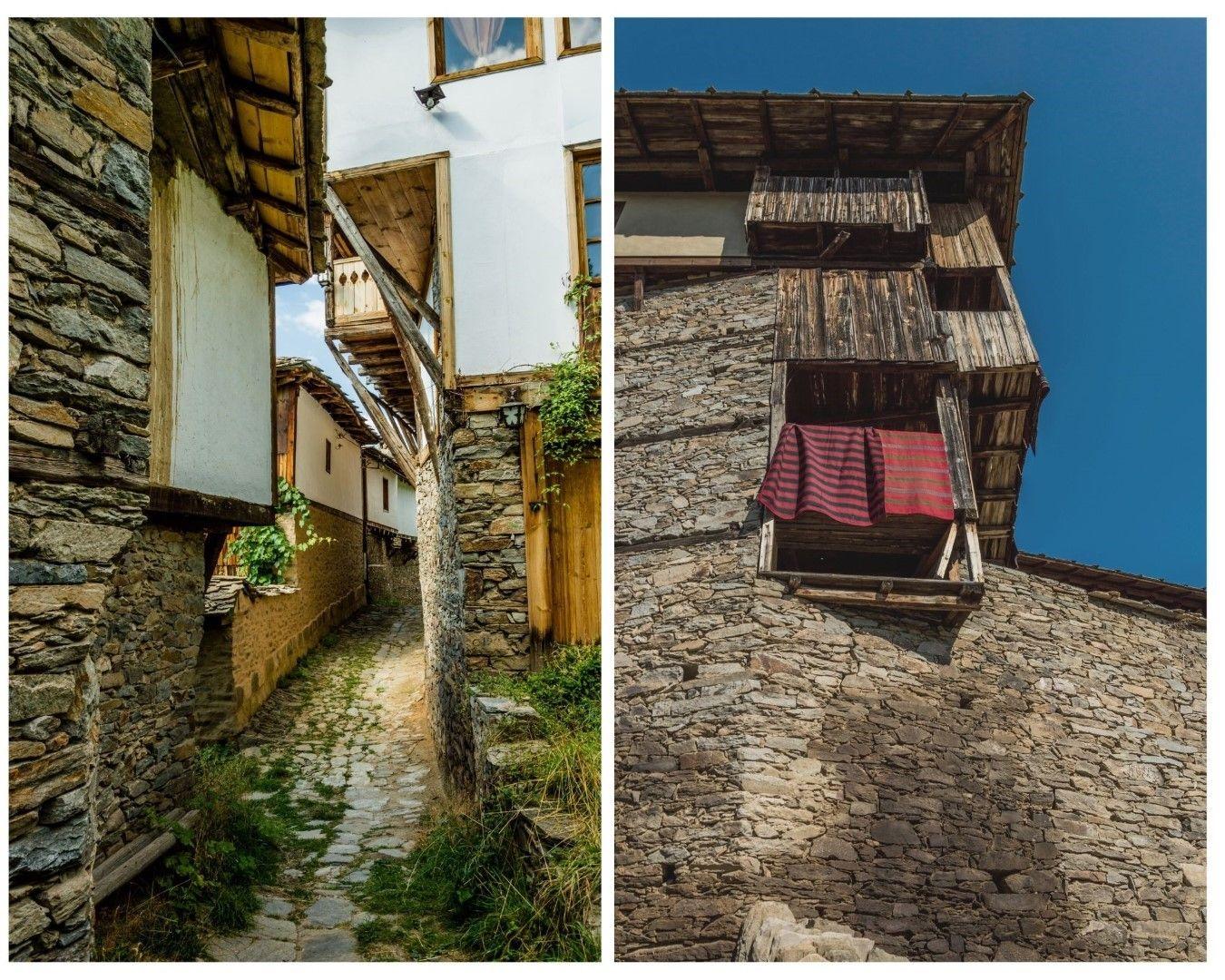 Старите къщи на Ковачевица са любим декор за български филми