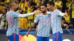 Роналдо нокаутира стюард, а 135-ият му шампионски гол не донесе радост на Юнайтед
