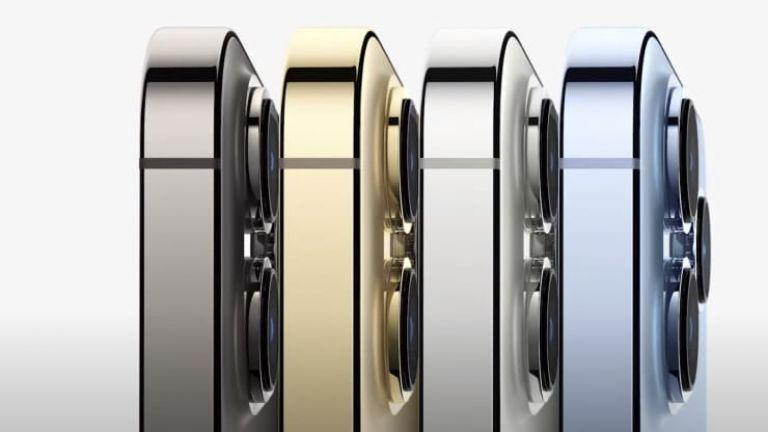 Цветовата гама на iPhone 13 Pro