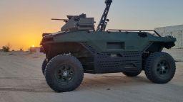 Израелска фирма представи въоръжен робот-граничар