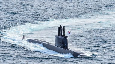 Южна Корея изстреля балистична ракета от подводница