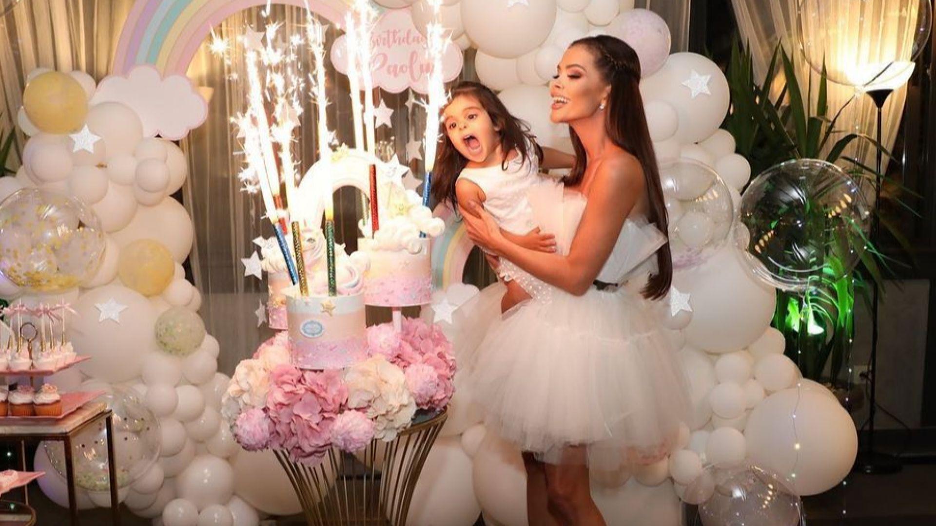 Преслава организира приказно тържество по случай рождения ден на дъщеря си