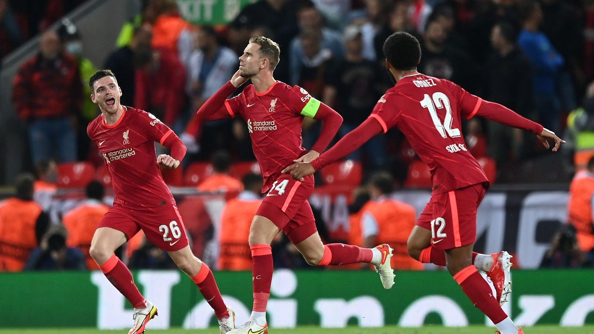 """Зрелище на """"Анфийлд"""", Ливърпул и Милан отново не разочароваха"""