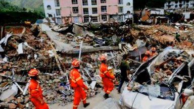 Мощно земетресение удари Китай, има ранени и загинали (снимки/видео)