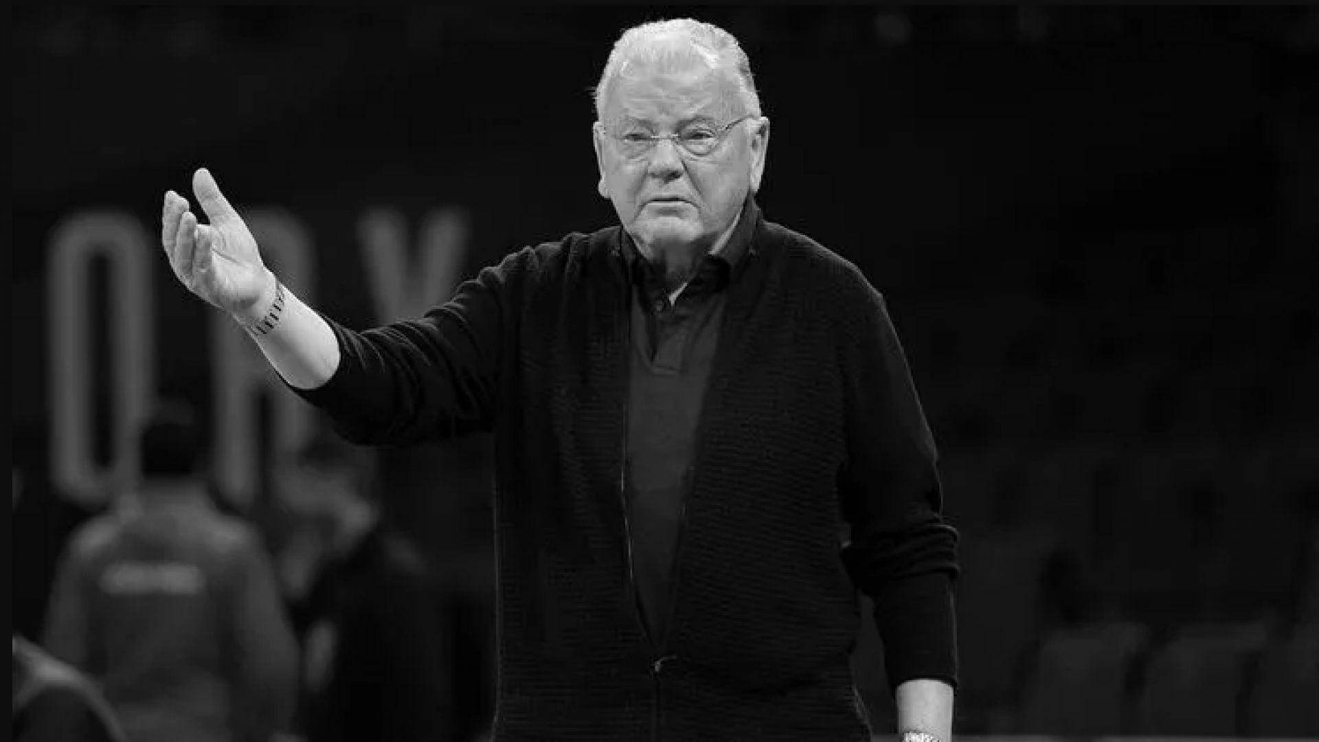 Почина един от най-големите баскетболни треньори в Европа