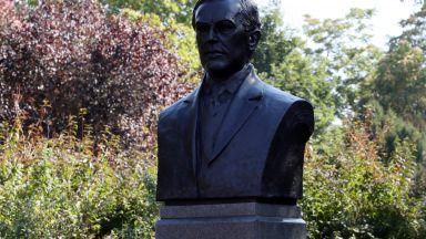 Откриха паметник на американския президент Удроу Уилсън в центъра на София