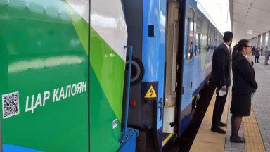 """Първия си подпис като министър Христо Алексиев постави за инициативата """"Влак Свързана Европа"""""""