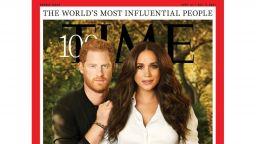 Принц Хари и Меган за първи път позираха заедно за корица на списание